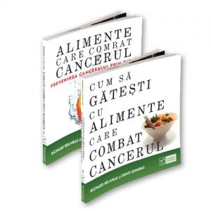 Pachet CUM SA COMBATI CANCERUL PRIN ALIMENTATIE (2 Carti)