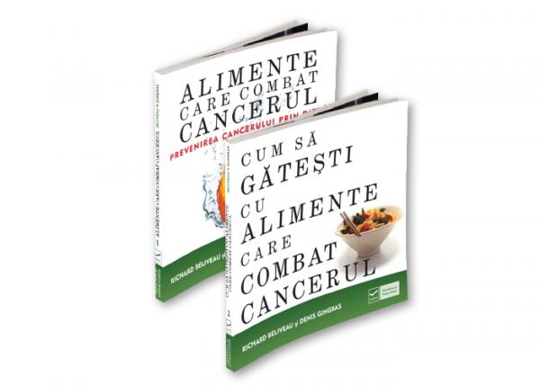 Pachet CUM SA COMBATI CANCERUL PRIN ALIMENTATIE (2 carti)-92